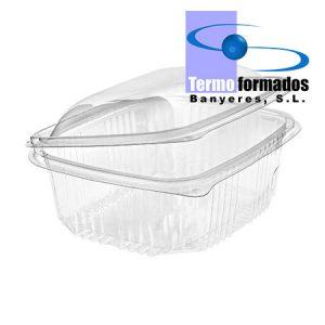 envase-ensaladera-estuche-tarrina-bisagra-transparente-1500-cc-tapa-alta-abierta-termoformados-banyeres-envase-plastico