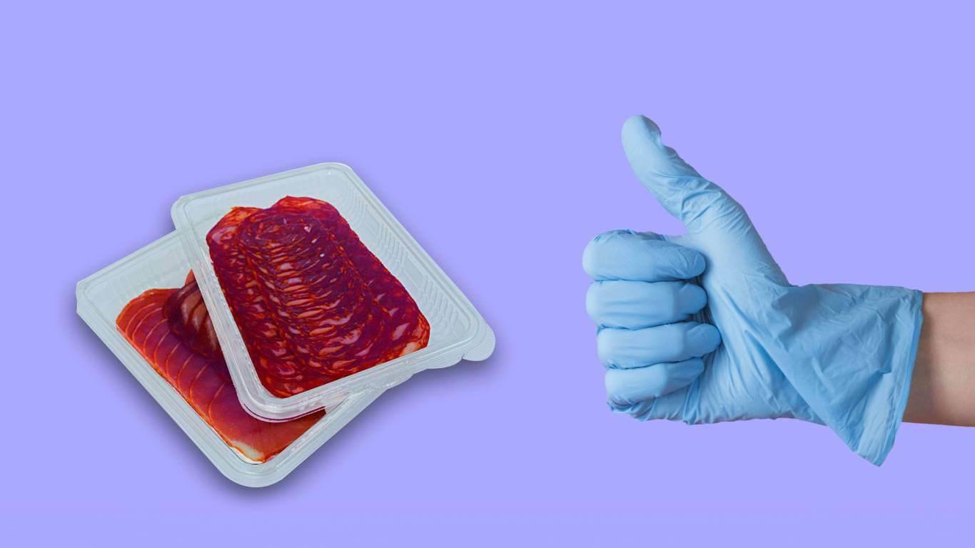 Envases de plastico higienicos contra el coronavirus Termoformados Banyeres