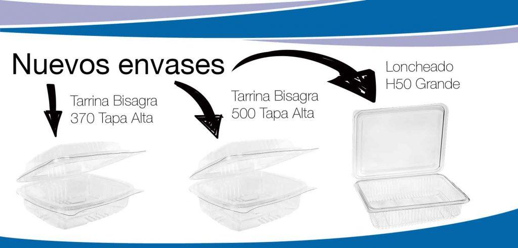Nuevos envases como las tarrinas tapa alta y la H50 de Termoformados Banyeres